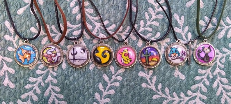 Silly Cat Necklace