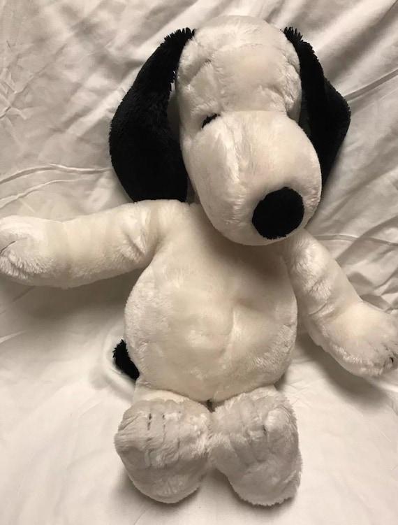 Large Vintage 1968 Snoopy Plush Stuffed 20 United Etsy