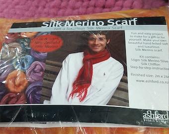 Silk & Merino Scarf kits