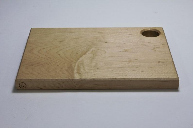 Maple cutting board rectangular