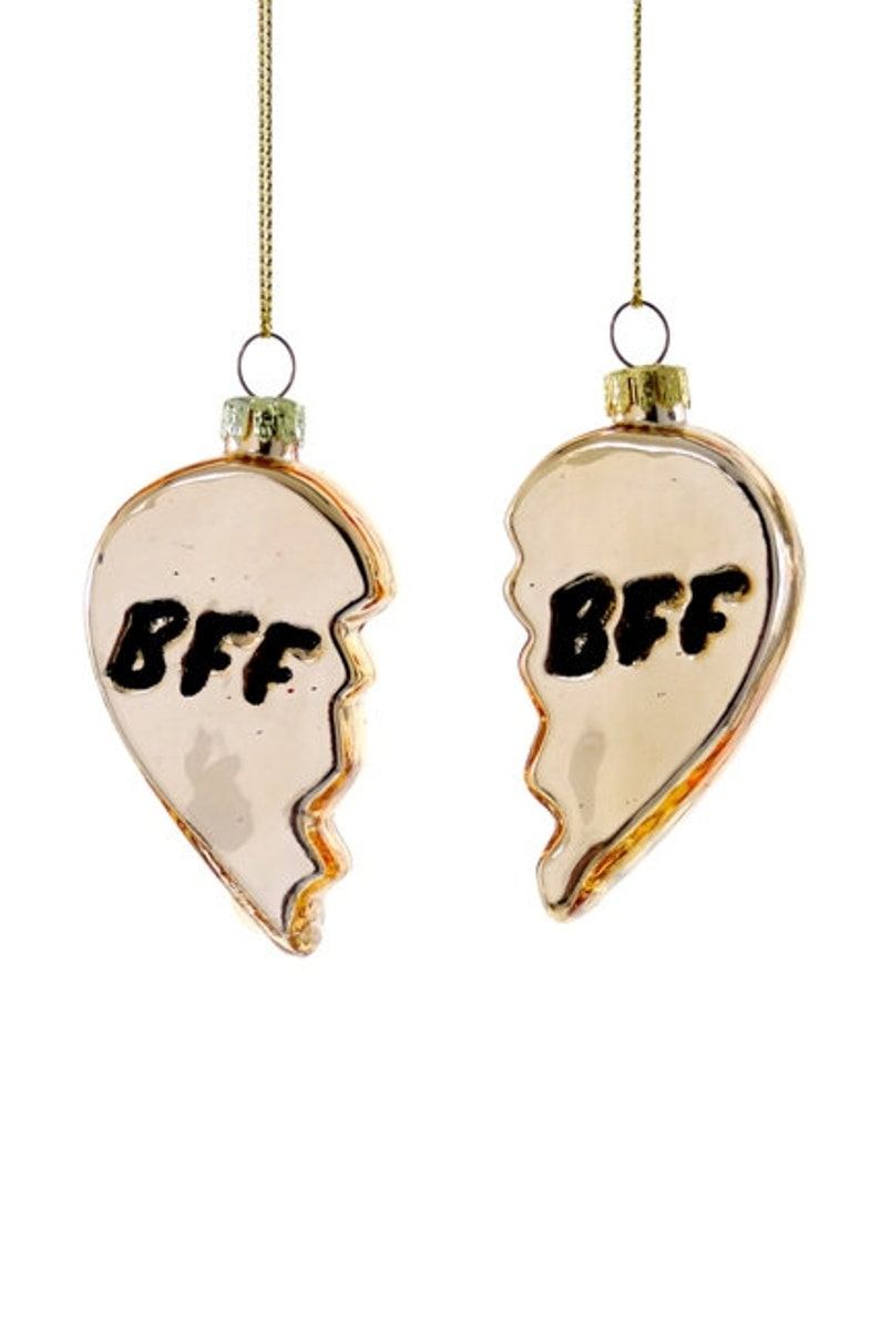 BFF Your My Person Broken Heart Christmas Ornament PRE-Order
