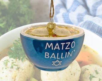 Matzo Ball Soup Christmas Ornament