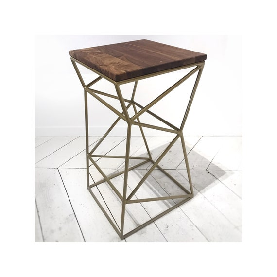 Minimalist Stool.  Kitchen Island Stool. Bar Stool
