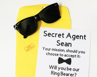 Ring Bearer Secret Agent Proposal