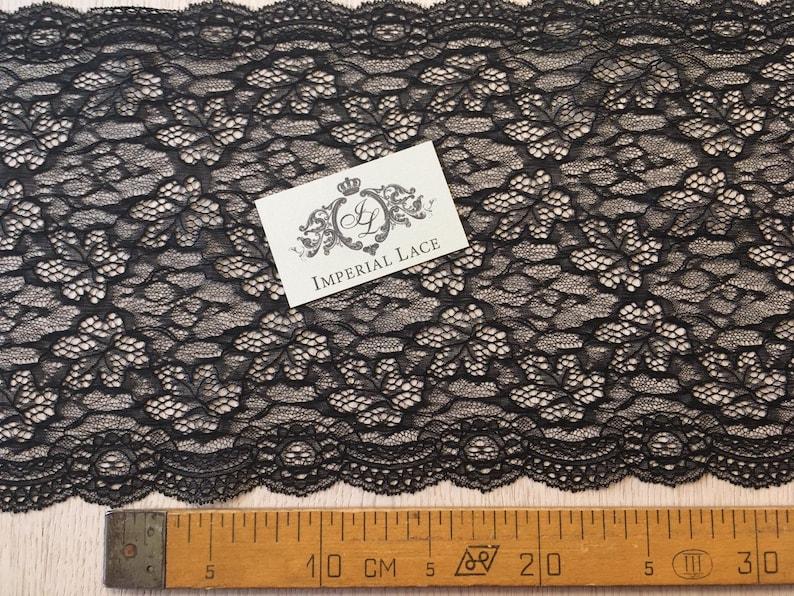 Wedding Lace Black Lace Trim Chantilly Lace Lingerie Lace MM00083 Black Lace Bridal Gown lace Veil lace French Lace Garter lace