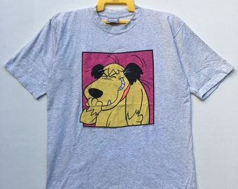 7b09109066 Vintage 90s Wacky Races Muttley T Shirt By Hanna-Barbera Nascar Racing  Cartoon Tee Saiz Large Made In Usa