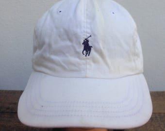 f4ec5a42dee00 Vintage 90s POLO Bucket Hats Cap by Ralph Lauren Spell Out