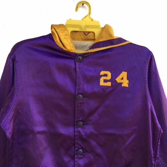 Vintage 50s Lowe & Campbell Varsity Jacket Button… - image 3