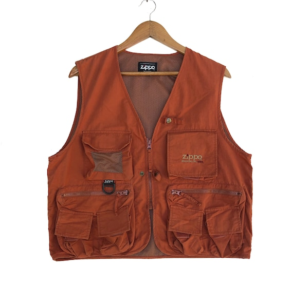 ZIPPO Tactical Multi Pocket Hunting Fishing Vest S