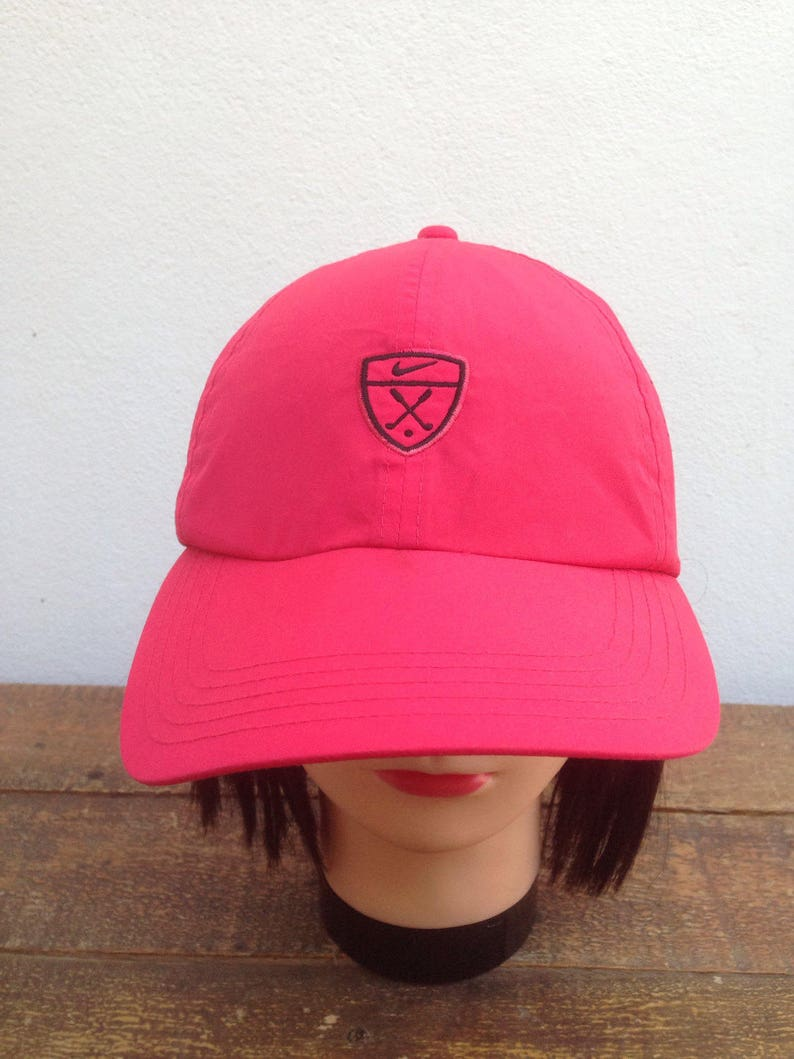 617fe0f79 Nike Golf Cap Pink Color Adjustable Hats One Size Fits All