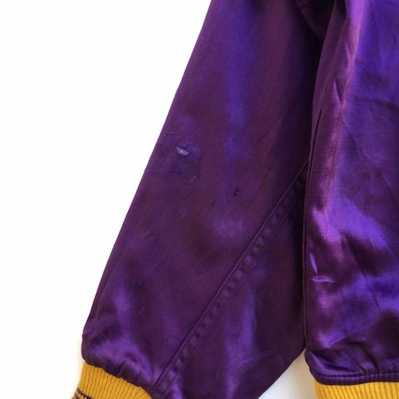 Vintage 50s Lowe & Campbell Varsity Jacket Button… - image 6