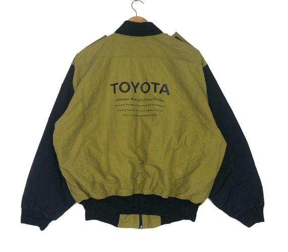 Vintage 90s Toyota Zipper Jacket Motorsports Racin