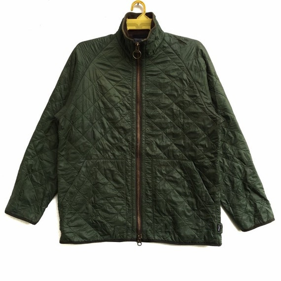 BARBOUR Polar Quilts Guilted Jacket Zipper Down Wi