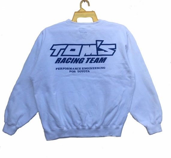 TOM'S Toyota Sweatshirt Motorsports Racing Team An
