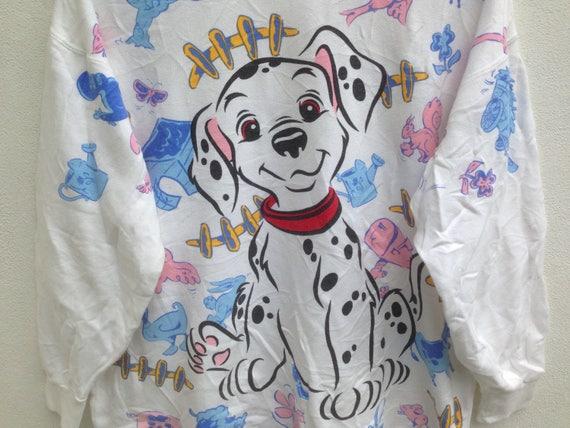 Disney Girls 101 Dalmatians Dalmatian Head Sweatshirt