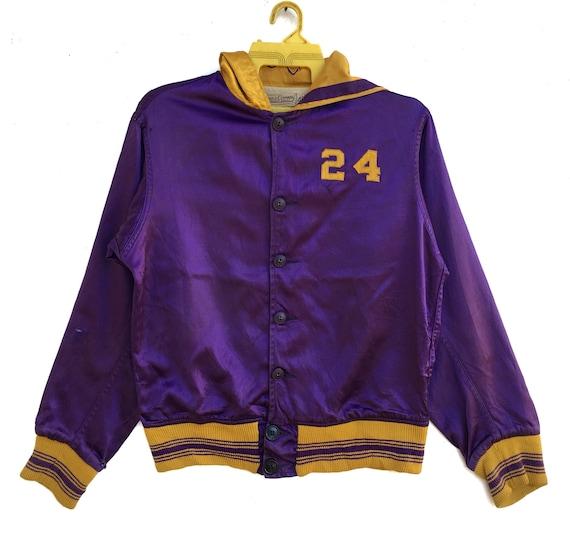 Vintage 50s Lowe & Campbell Varsity Jacket Button… - image 2
