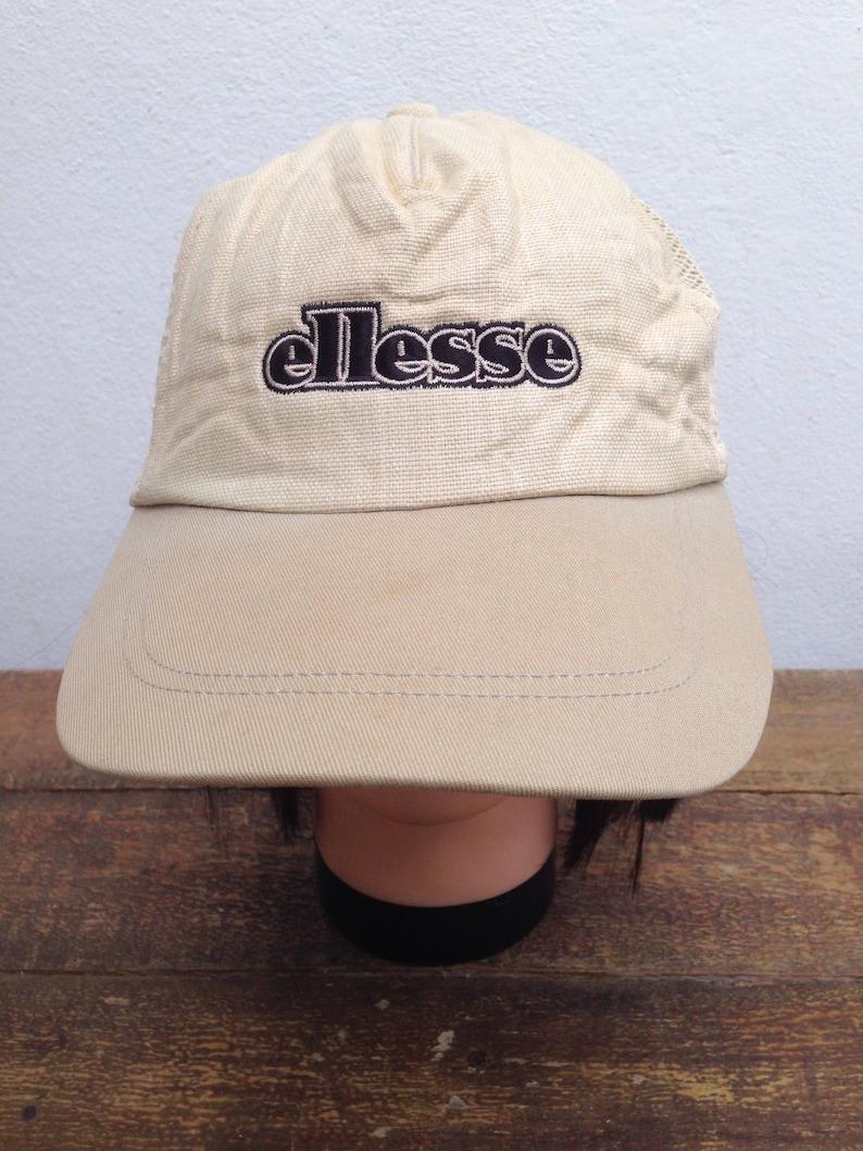 822998ca6 Vintage Ellesse Cap Big Spell Out | Ellesse Trucker Cap Adjustable Hats