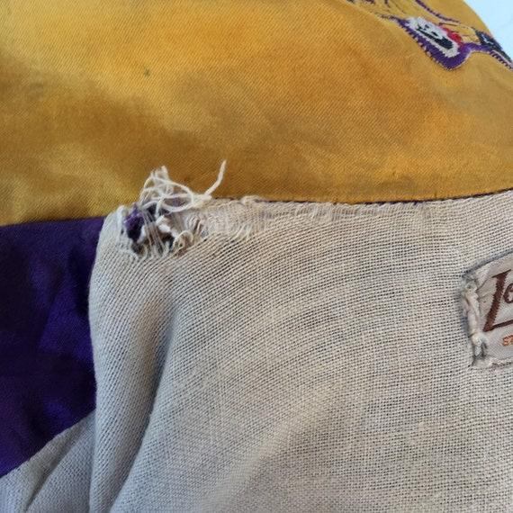 Vintage 50s Lowe & Campbell Varsity Jacket Button… - image 9