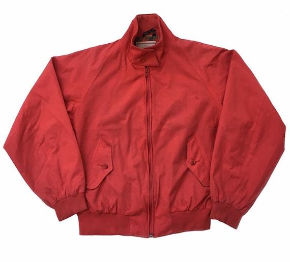 Vintage Baracuta Harrington Jacket Baracuta Red En