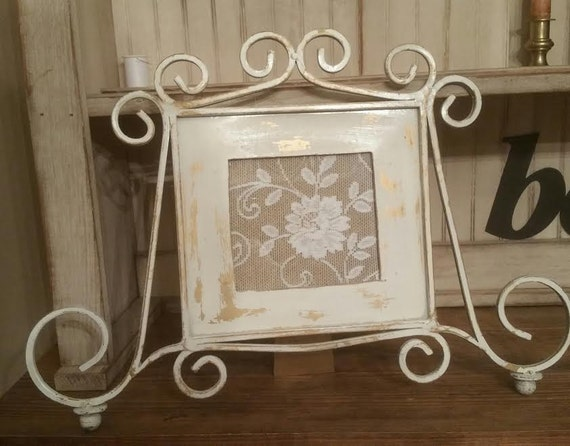 Wrought Iron Picture Frames Shabby Chic Picture Frames Etsy