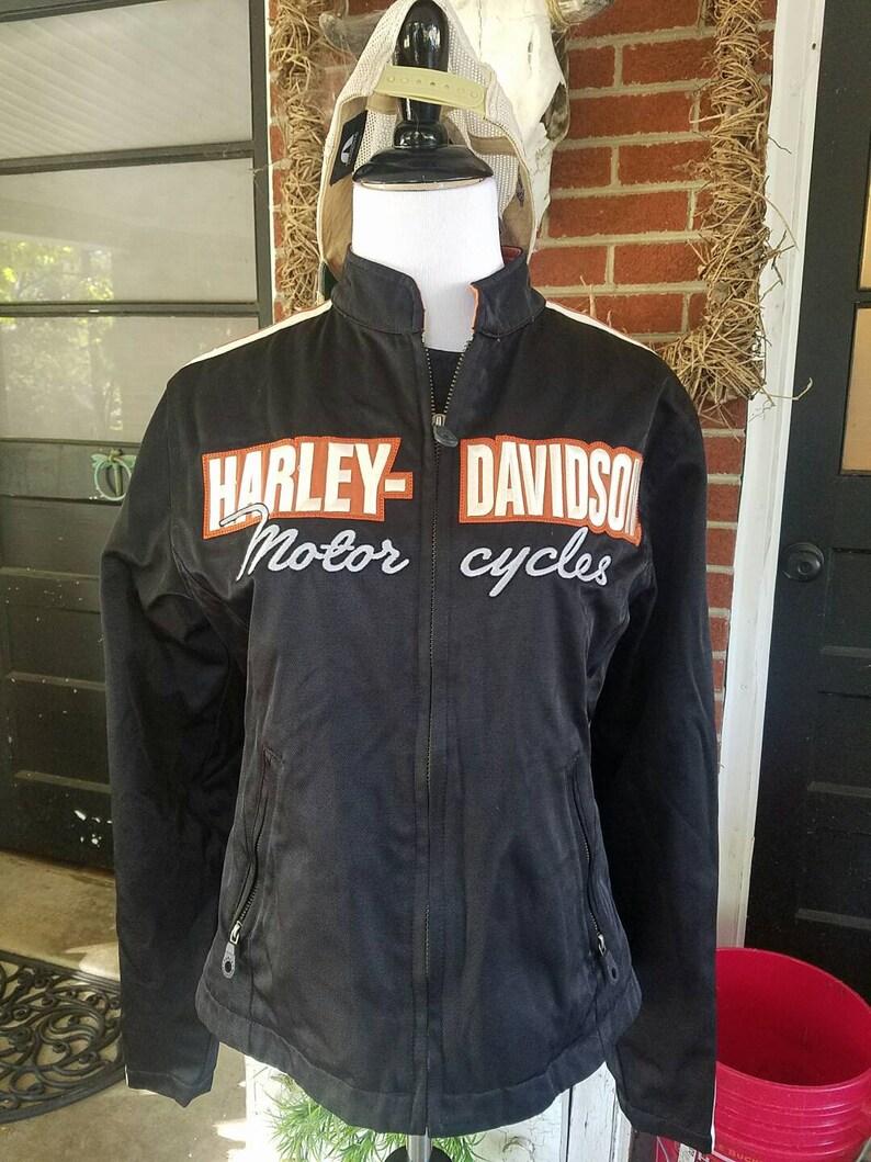 d9421829a9f0 Womens Harley Davidson Jacket vintage womens Harley Davidson