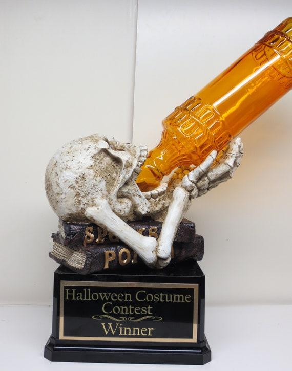Trophy Crunch Halloween Party Pumpkin Trophy Choose from 10 Styles Quick Custom