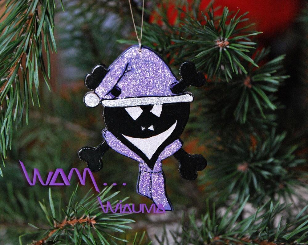 Weihnachten-Schädel hängende Dekoration | Etsy