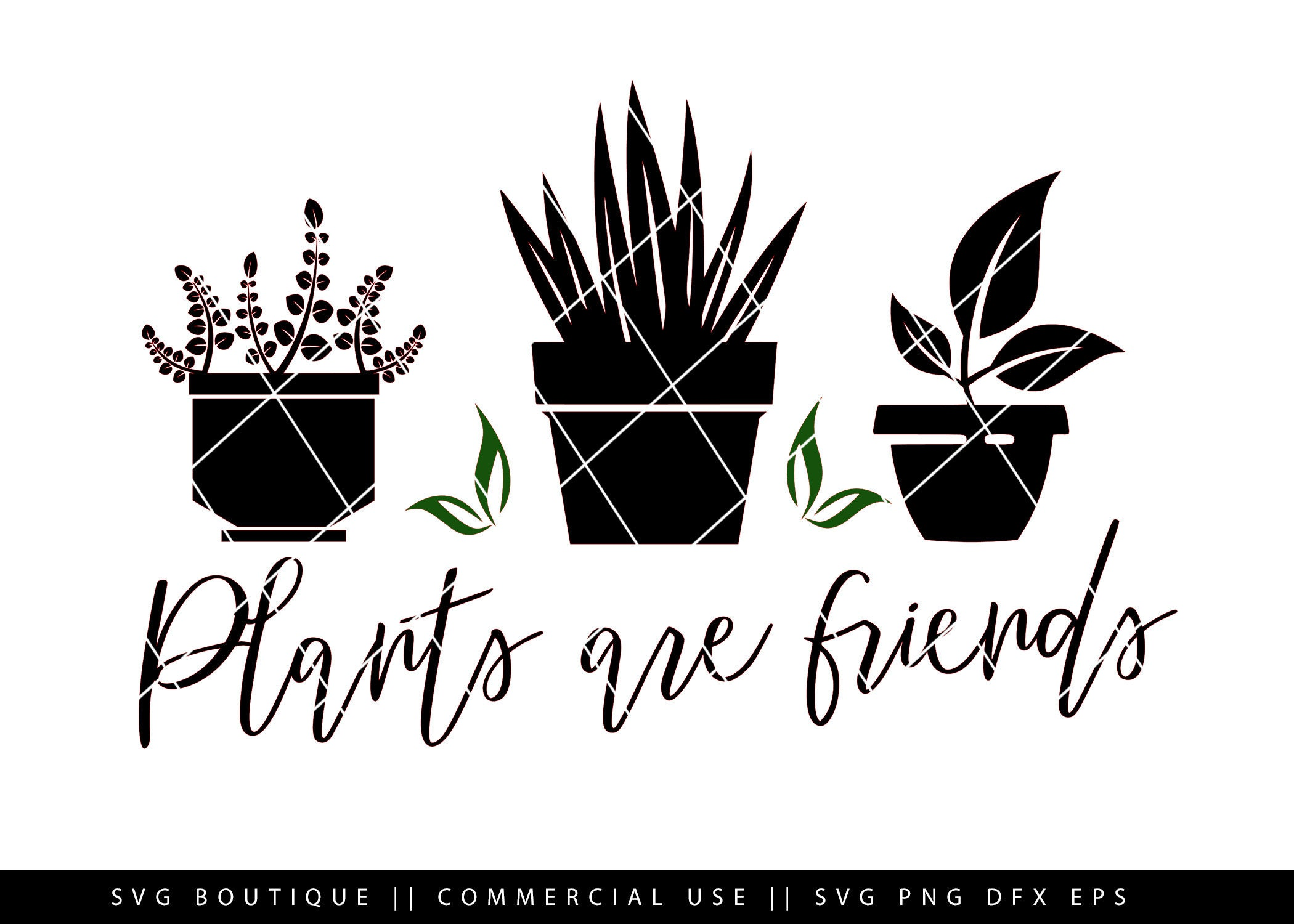 Details about  /Plants Are Friends Lovely Graphic Design Hoodie For Plant Lovers