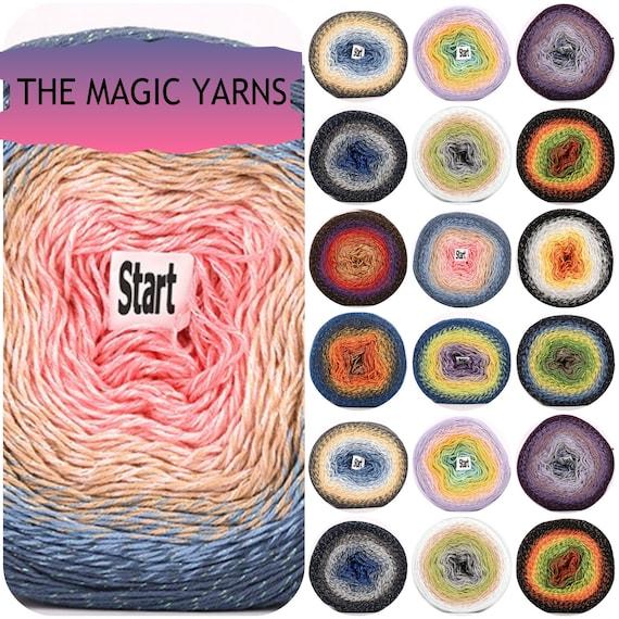 20 Madejas Grandes Seda Trenzado De Varios Colores Brillo Trenzado de hilos de bordar