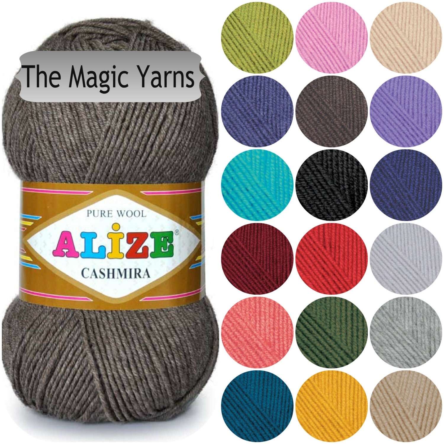 Yarn Alize: properties, features, reviews 55
