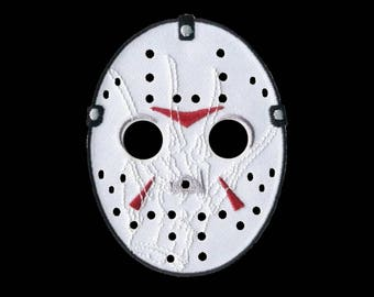 Freddy vs Jason patch (glow-in-the-dark) - iron on embroidered