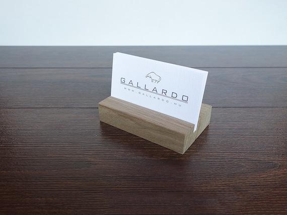 Holz Visitenkarten Etui Holz Visitenkarte Stand Wooden Karte Holder Office Display Personalized Visitenkarten Etui Kartenhalter