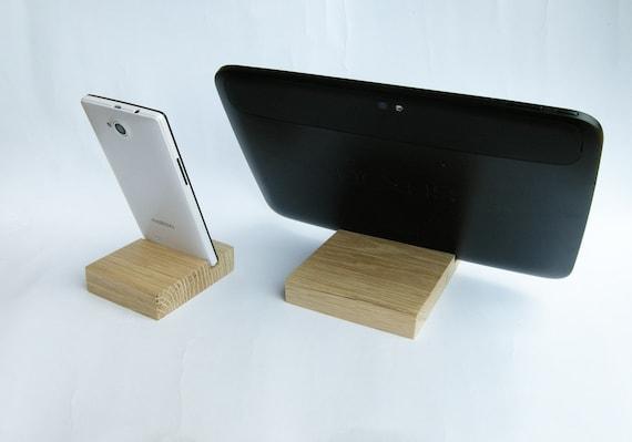 Holz Ipad Iphone Stand Gesetzt Holz Ipad Stand Hölzerne Iphone Stand Eiche Ipad Stand Gesetzt Ipad Docking Station
