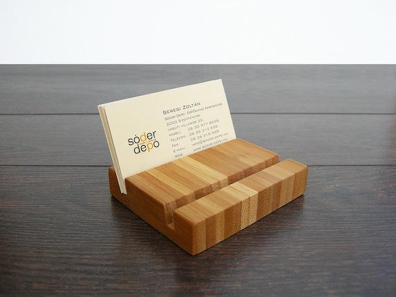 Mehrere Holz Visitenkartenetui Bambus Visitenkarte Stand Kartenhalter Aus Holz Office Anzeige Bambus Kartenhalter