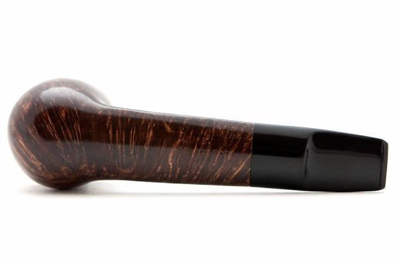 Tobacco Smoking Pipe Briar Metal filter 4,92 NEW Unsmoked Smooth Aviator Brown pipe extra extra Briar ebonite stem excellent quality GIFT