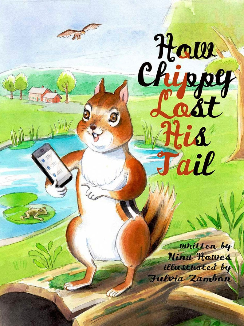 How Chippy lost his Tail image 0