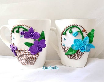 Pretty little orchids for fairy coffee break