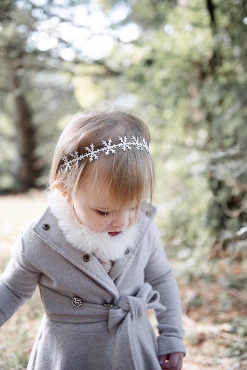 Winter Onederland first birthday Snowflake headband Frozen headband snowflake baby elsa winter baby frozen headband