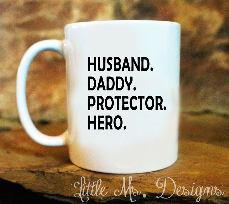 621f05b53 Husband Daddy Protector GiftSuper Hero DadDaddy GiftFor | Etsy
