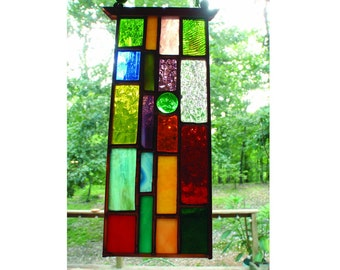 Mini Stained Glass Sun Catcher gift idea