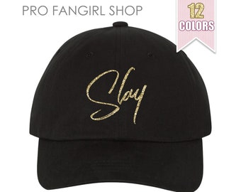 Slay Dad Hat, Tumblr Aesthetic Clothing Pastel Boss Baseball Hat, Slay All Day Beyonce Dad Hats Dad Cap, Baseball Hat Teen Girl Gift Ideas