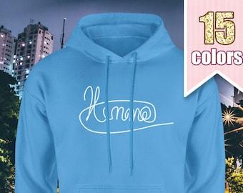 Luke Hemmings Signature Hoodie, 5SOS Shirt, 5 Seconds of Summer, Gift for Teen Girl Gift Ideas Teens Tumblr Sweatshirt, Teenage Girl Gift