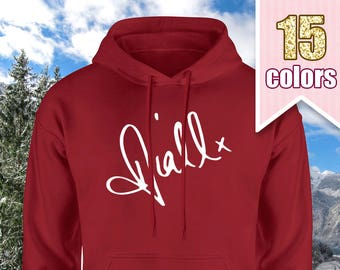 Niall Horan Signature Hoodie, Niall Horan Shirt, One Direction Gift, One Direction Shirt, One Direction Hoodie, Teen Girl Gift Ideas Teens