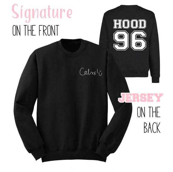 91c34580fd4 Calum Signature Sweatshirt Hood 96 Shirt 5 Seconds of Summer