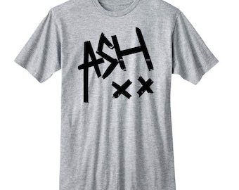 Ash XX Shirt, Ashton Irwin 5SOS Band Shirt, 5 Seconds of Summer T-Shirt, Fangirl Shirt, Black Grey White Premium Unisex Ladies Junior Tshirt