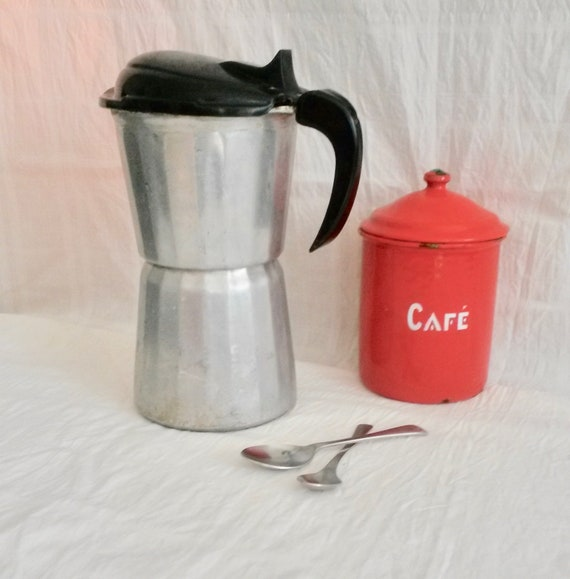 Coffee Percolator Vintage Coffee Maker Stove Top Coffee Machine Seb