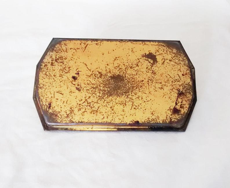 Storage Rusty Tin Victoriana Vintage Tin Kitsch Decorative Murray Allen Vintage Sweets Tin Toffee Tin