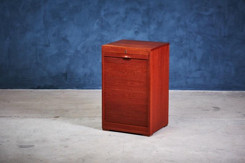 Teak File Cabinet, 1960s