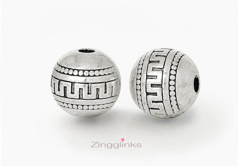 Free Shipping 30pcs Tibetan Silver Flower Beads Caps 23x6mm
