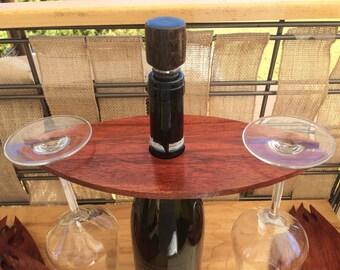 Wooden Wine Glass Holder